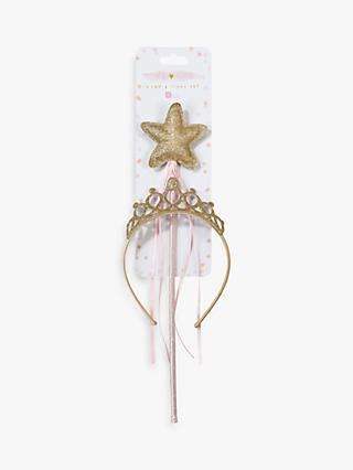 Talking Tables Tiara & Wand Set