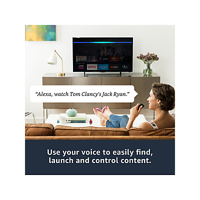 Image of Amazon Fire TV Stick, 4K Ultra HD with Alexa Voice Remote