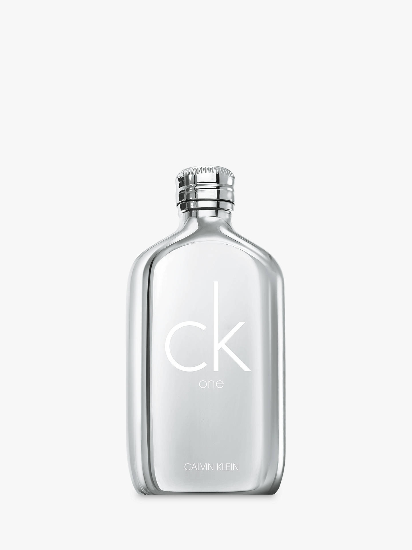 2390777d6dbf Buy Calvin Klein CK One Platinum Eau de Toilette Limited Edition, 100ml  Online at johnlewis ...