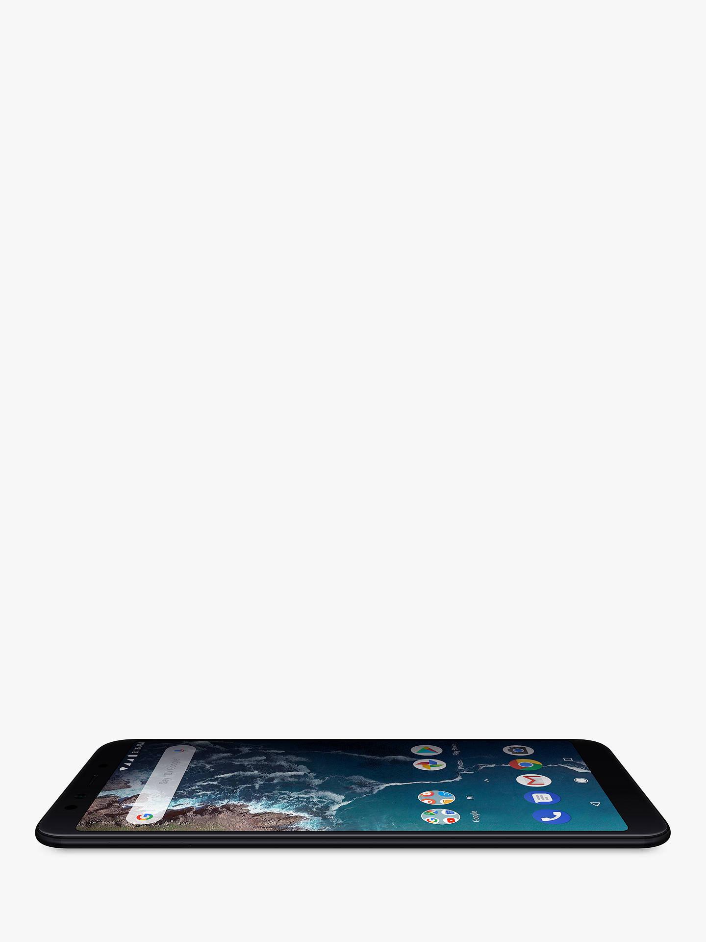 "Xiaomi Mi A2 Dual SIM Smartphone, Android, 5 99"", 4G LTE, SIM Free, 64GB,  Black"