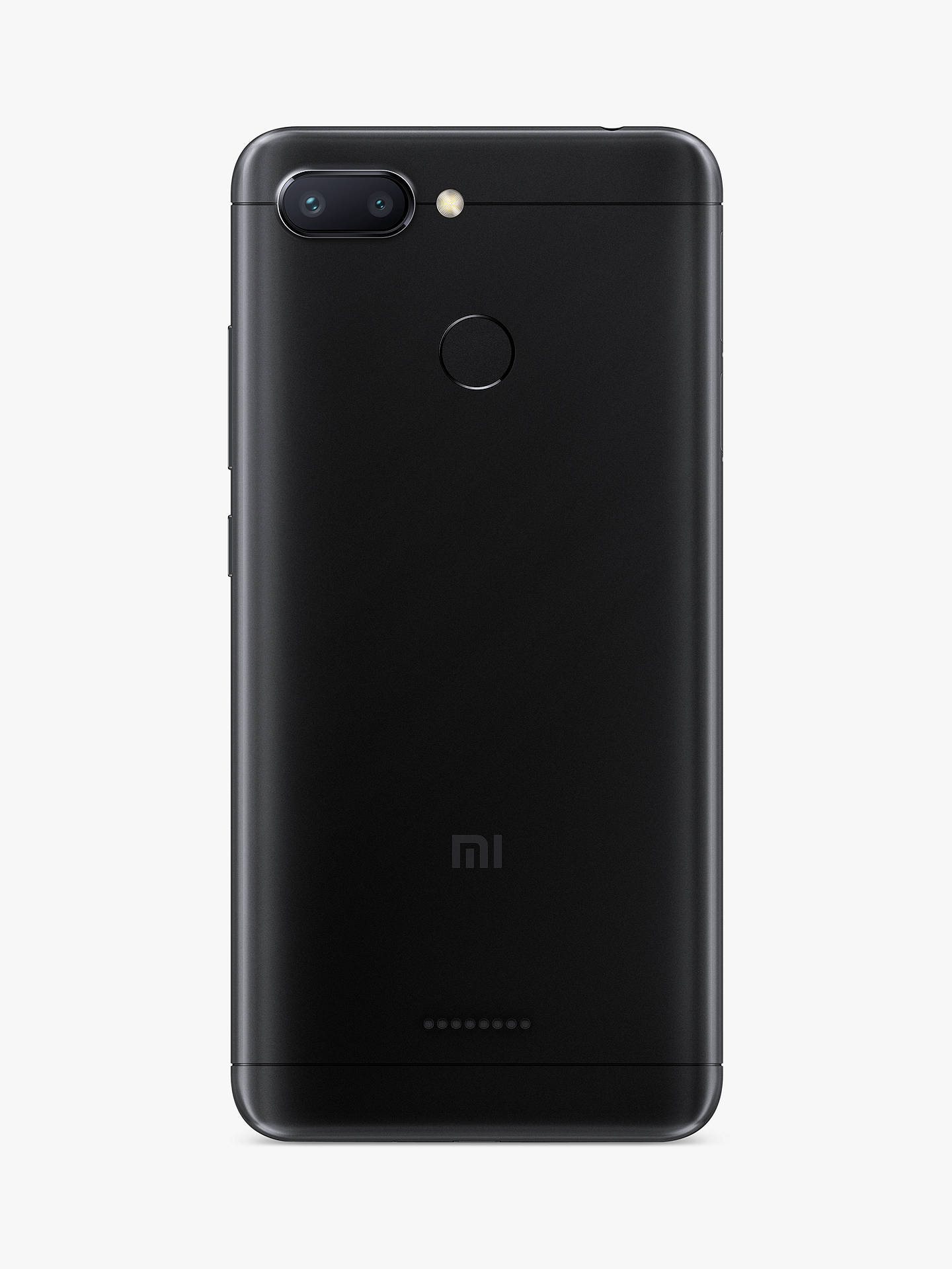 "Buy Xiaomi Redmi 6 Dual SIM Smartphone, Android, 5.45"", 4G LTE, SIM Free, 32GB, Black Online at johnlewis.com"