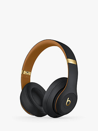 Buy Beats Studio³  Wireless Bluetooth Over-Ear Headphones with Pure Adaptive Noise Cancelling & Mic/Remote, Skyline Collection, Midnight Black Online at johnlewis.com