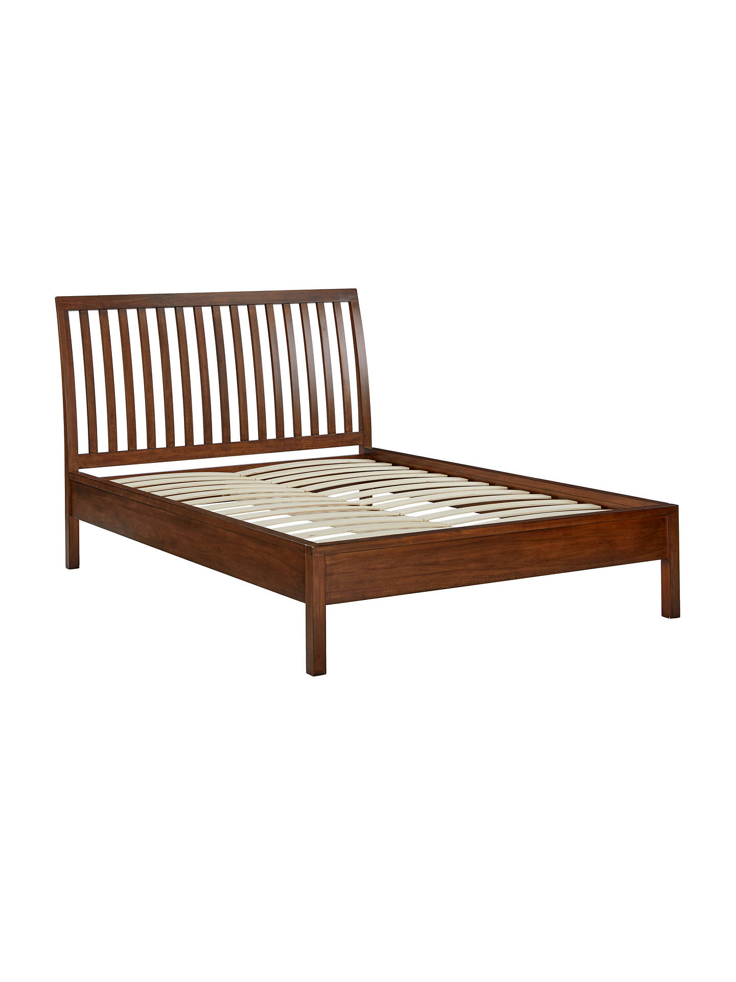 best website dfd0b 6b923 John Lewis & Partners Medan Bed Frame, Super King Size, Dark Wood