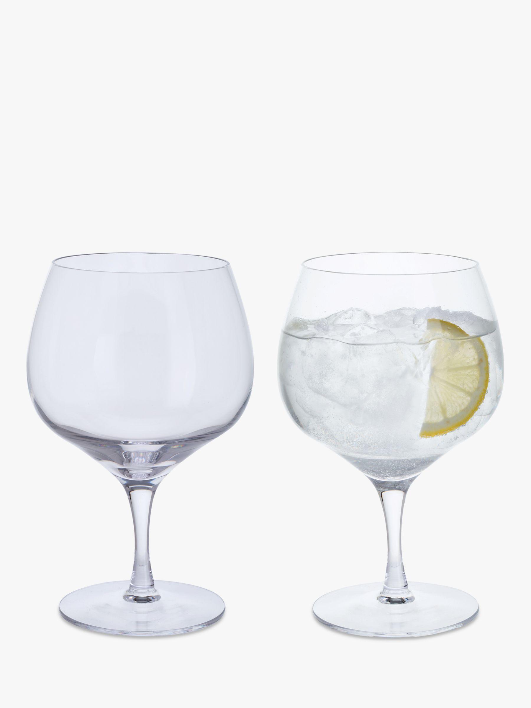 Dartington Crystal Dartington Crystal Gin Story Copa Glass, 630ml, Set of 2, Clear
