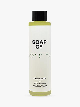 The Soap Co. Detox Bath Oil, 100ml