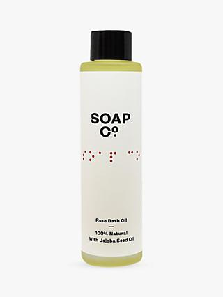 The Soap Co. Rose Bath Oil, 100ml