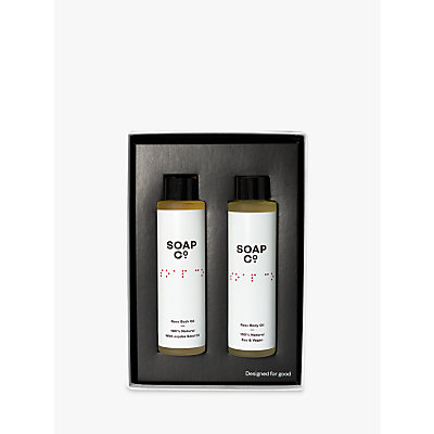 Image of The Soap Co. Indulgent Rose Duo Gift Set