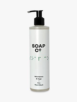 The Soap Co. Wild Nettle & Sage Eco Hand Wash, 300ml