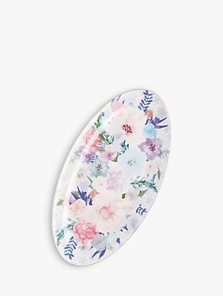Anthropologie Jioletta Floral Serving Platter, L42cm