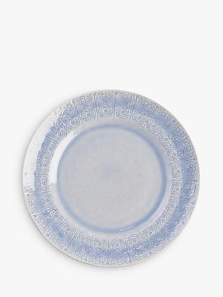 Anthropologie Veru Dinner Plate, 27.6cm, Blue