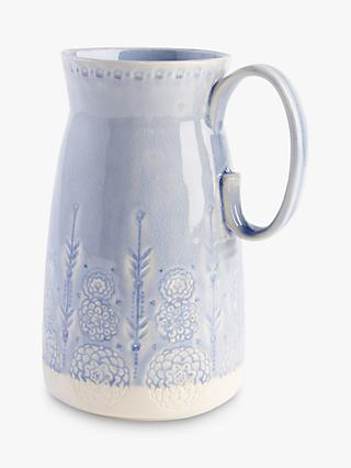 Anthropologie Veru Pitcher, 2L, Blue
