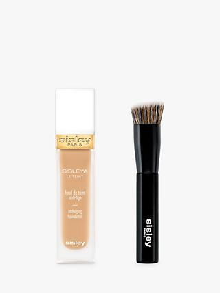 Sisley Sisleÿa Le Teint Anti-Ageing Foundation, Linen with Foundation Brush (Bundle)