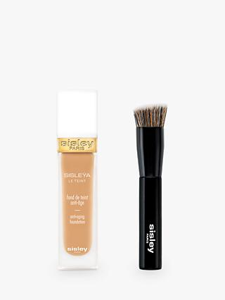 Sisley Sisleÿa Le Teint Anti-Ageing Foundation, Almond with Foundation Brush (Bundle)