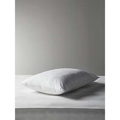 John Lewis & Partners Synthetic Memory Microfibre Standard Pillow, Medium