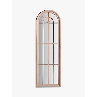 Isabella Arched Mirror, 180 x 60cm, Antique White