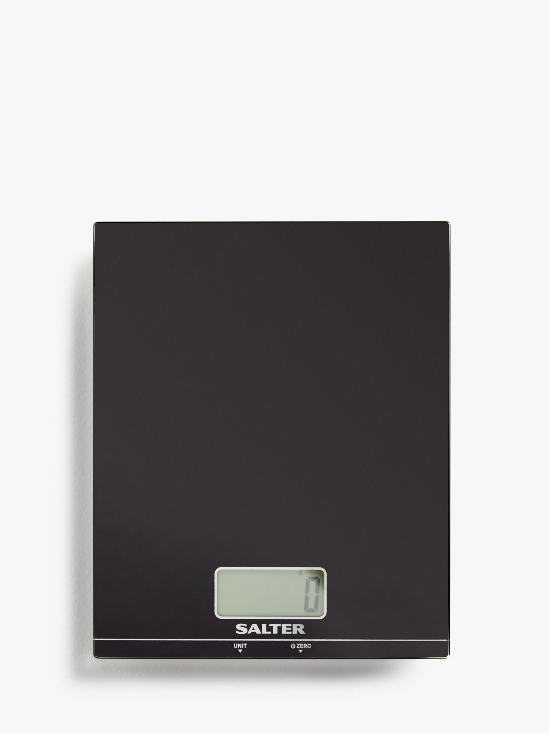 Salter Salter Large Ultra Slim Electronic Kitchen Scale, Black, 5kg