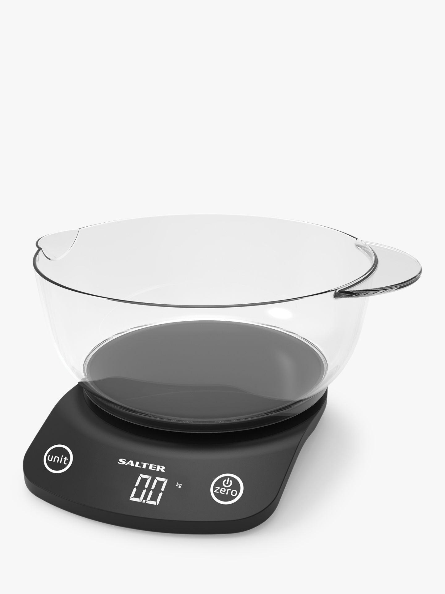 Salter Salter Electronic Kitchen Scale & 1.8L Bowl, 5kg