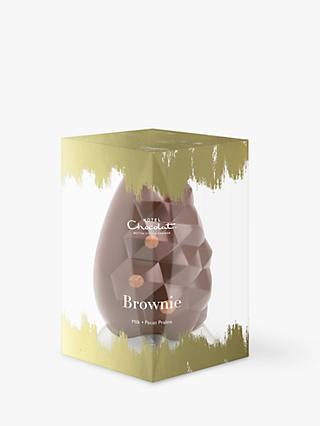 Hotel Chocolat Brownie Easter Egg, 220g