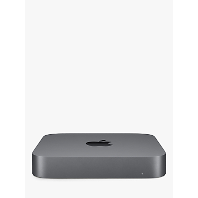 Apple Mac mini 2018 Desktop Computer, Intel Core i5, 8GB RAM, 256GB SSD, Space Grey