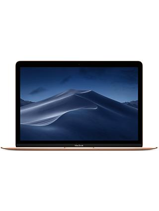 "Apple MacBook 12"", Intel Core m3, 8GB RAM, 256GB SSD, Intel HD Graphics 615, Gold"