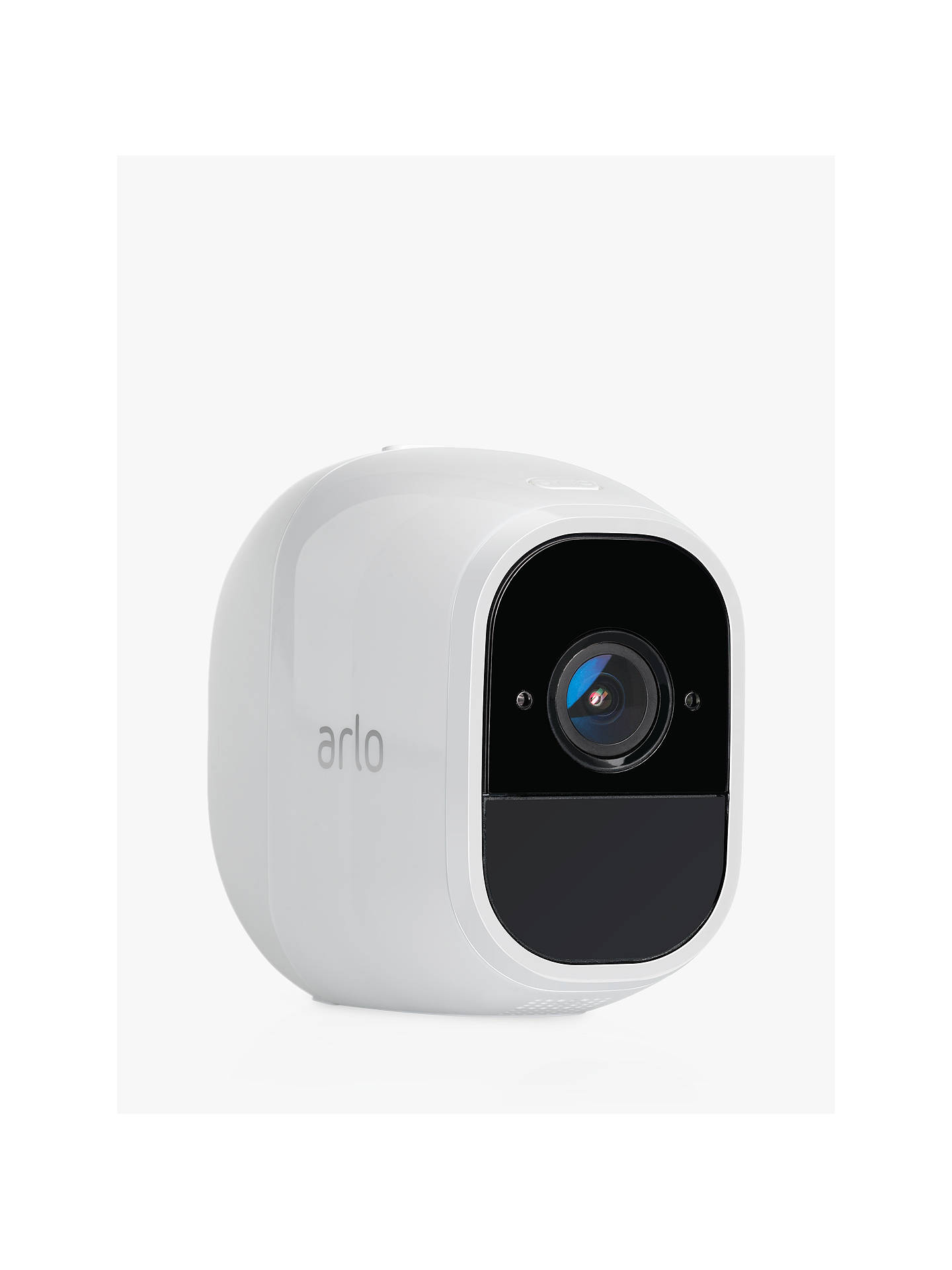 Netgear Arlo Pro 2 Smart Security System with Two Full HD Cameras, White