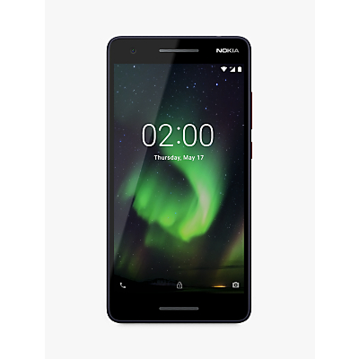 "Image of Nokia 2.1 Smartphone, Android, 5.5"", 4G LTE, SIM Free, 8GB, Blue"
