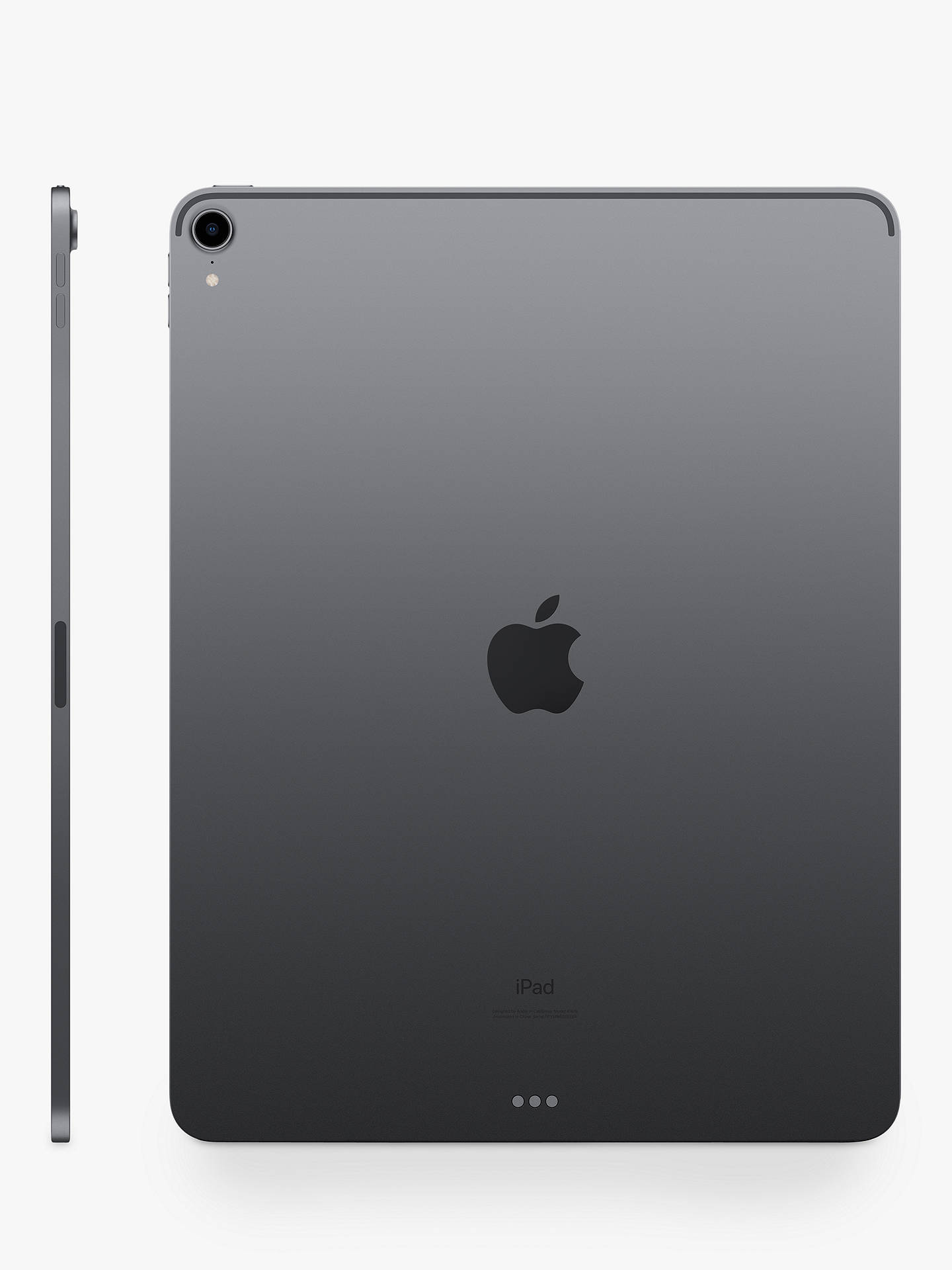 "Buy 2018 Apple iPad Pro 12.9"", A12X Bionic, iOS, Wi-Fi, 256GB, Space Grey Online at johnlewis.com"