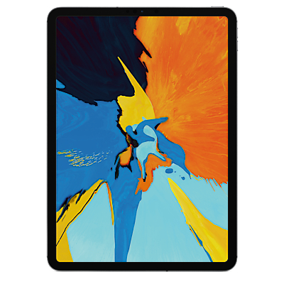 Image of 2018 Apple iPad Pro 11, A12X Bionic, iOS, Wi-Fi & Cellular, 64GB