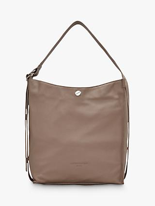 6d8aaabd378f Liebeskind Berlin Medium Leather Hobo Bag