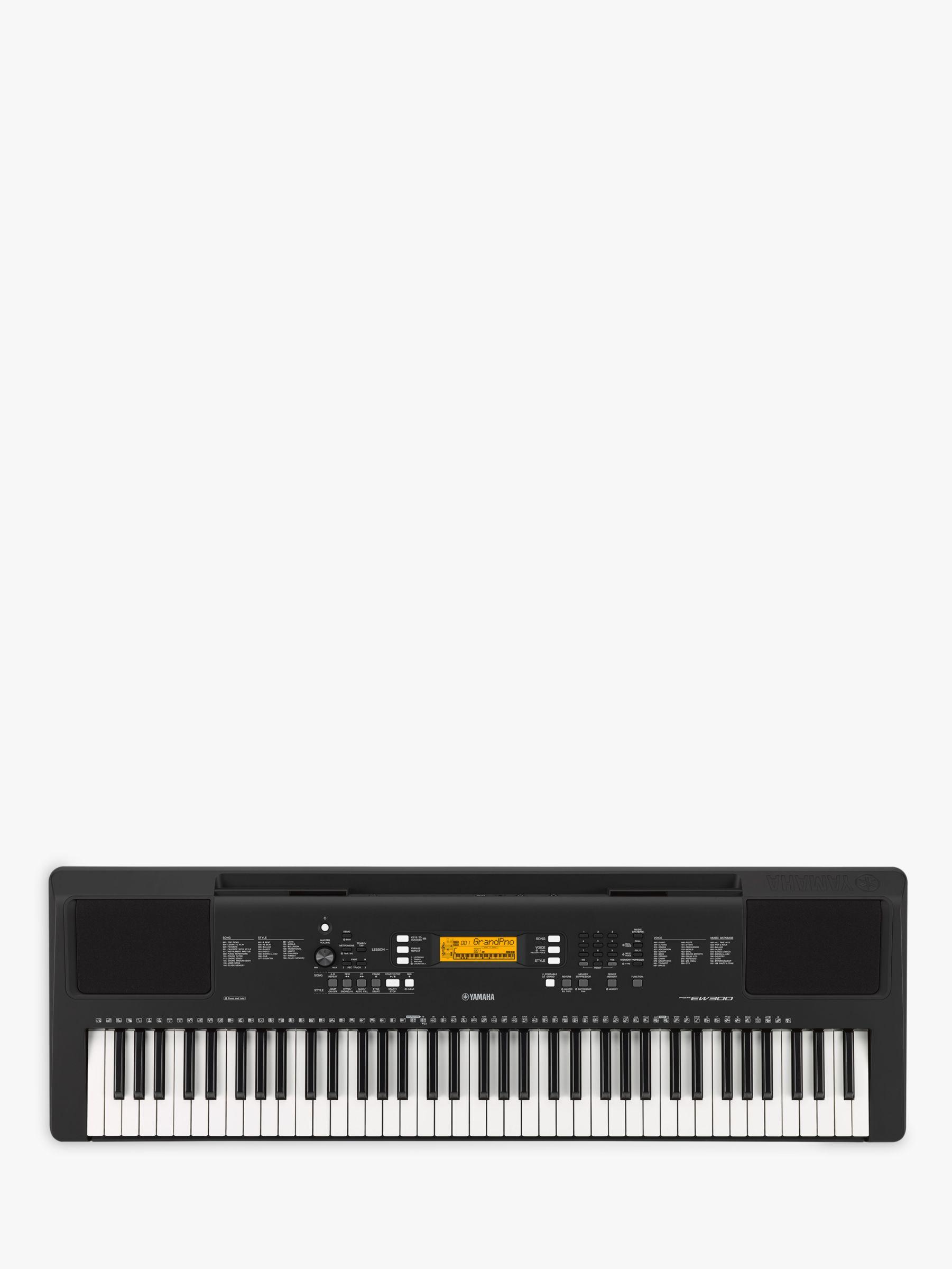 Yamaha PSR-EW300 Portable Electronic Keyboard