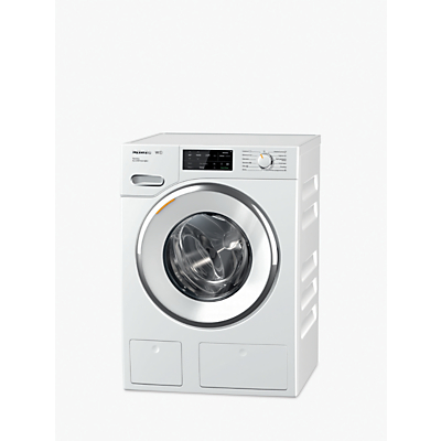 Miele WWI660 TwinDos XL 9kg 1600 Spin Washing Machine Lotus White  A+++ -10% with MobileControl and 5 Year Guarantee