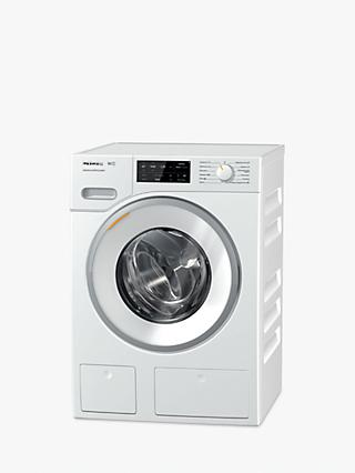 Miele WWE660 TwinDos Freestanding Washing Machine, 8kg Load, A+++ Energy Rating, 1400rpm Spin, White