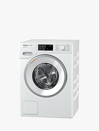 Miele WWE320 Freestanding Washing Machine, 8kg Load, A+++ Energy Rating, 1400rpm Spin, White