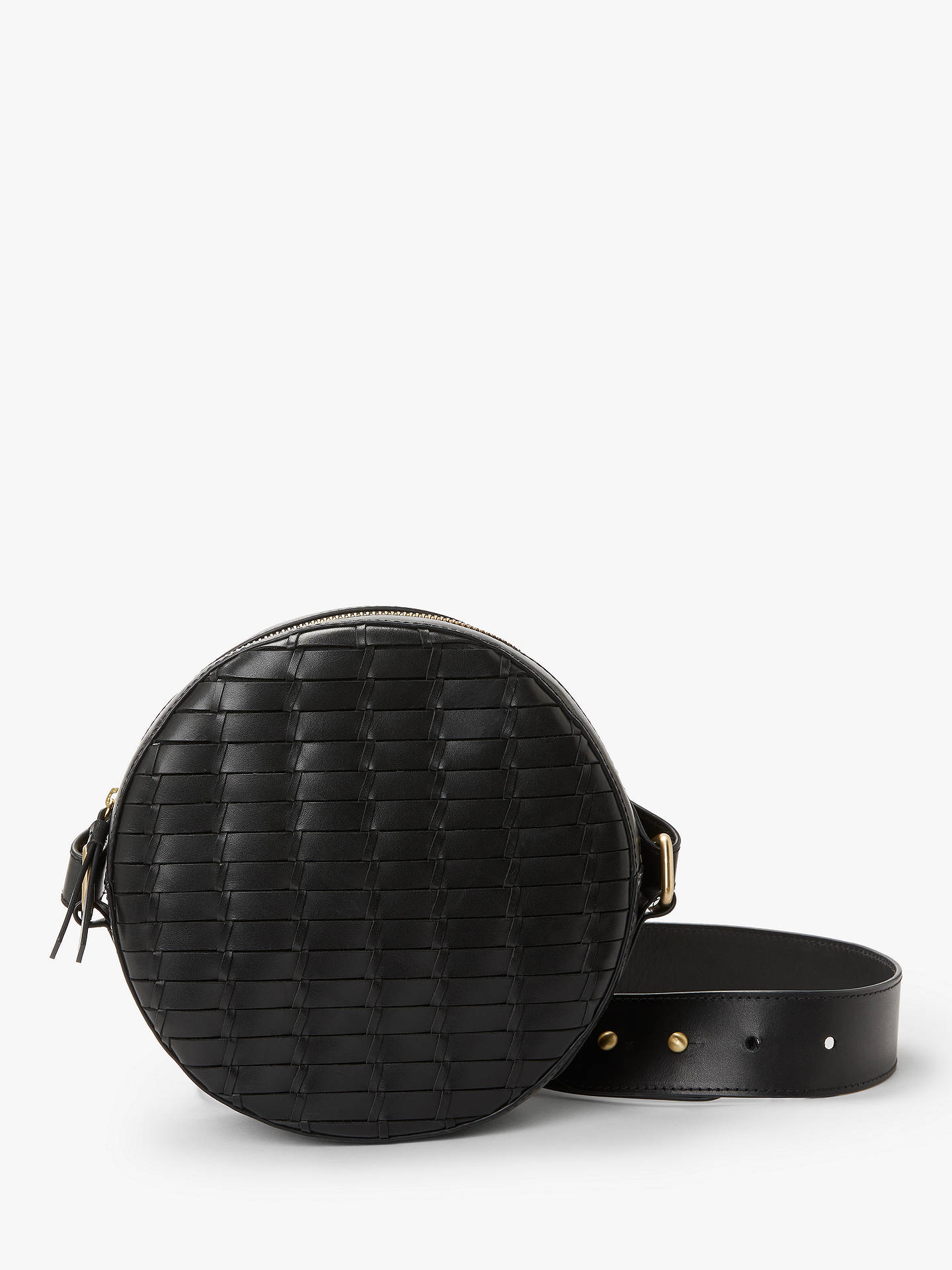 John Lewis   Partners Luna Leather Circle Cross Body Bag at John ...