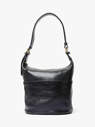 John Lewis & Partners Kepley Leather Cross Body Bag