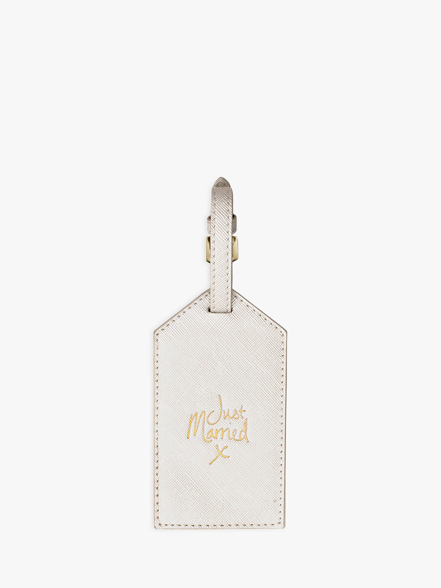 d3f40b4c2d6 Buy Katie Loxton Just Married Luggage Tag Online at johnlewis.com ...
