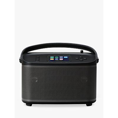 Image of ROBERTS R100 Multiroom Bluetooth Speaker Base Station with DAB/DAB+/FM Radio, Black