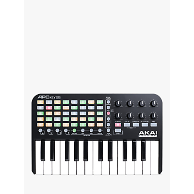 Image of Akai Professional APC Key 25 Ableton Live Controller with Keyboard