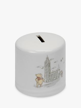 Winnie the Pooh Christopher Robin Money Box