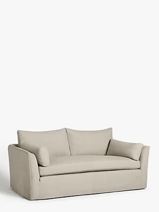 Croft Collection Cascade Large 3 Seater Sofa, Loose Cover