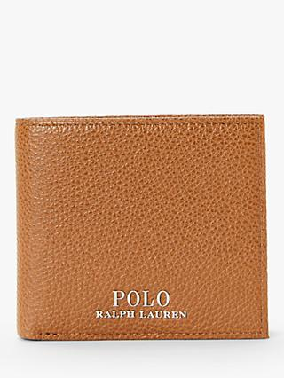 96c2934064 Polo Ralph Lauren Pebble Leather Bifold Wallet