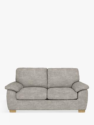 John Lewis & Partners Camden Medium 2 Seater Sofa, Light Leg, Maria Steel