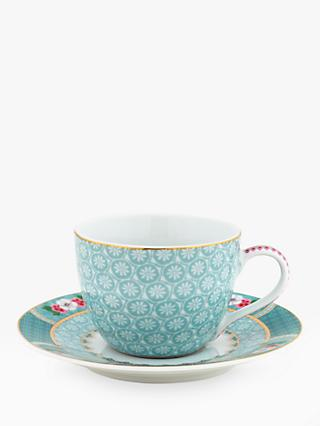 PiP Studio Blushing Birds Espresso Cup and Saucer, 120ml