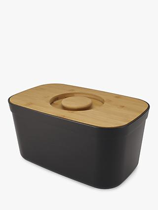 Joseph Joseph Bread Bin with Bamboo Wood Cutting Board Lid