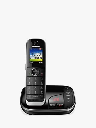 Panasonic KX-TGJ420EB Digital Cordless Telephone with Nuisance Call Blocker and Answering Machine, Single Dect