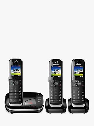 Panasonic KX-TGJ423EB Digital Cordless Telephone with Nuisance Call Blocker  and Answering Machine a56d9e762a