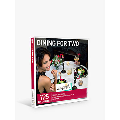 Image of Smartbox by Buyagift Dinner for Two Gift Experience