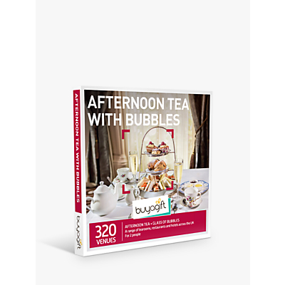 Image of Smartbox by Buyagift Afternoon Tea with Bubbles Gift Experience