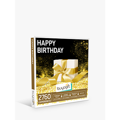 Image of Smartbox by Buyagift Happy Birthday! Gift Experience Voucher