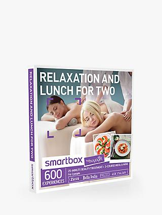 Smartbox by Buyagift Lunch and Relax for 2 Gift Experience